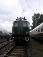 Berlin -Schoneweide/31906/e18-31-im-bw-schoeneweide-280907 E18 31 im BW Schöneweide. 28.09.07