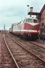 Stasfurt/66873/118-586-7-im-bw-stassfurt-im 118 586-7 im BW Staßfurt im Mai 2006