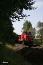 BR 362/156179/362-761-9-mit-56961-uebergabe-nach 362 761-9 mit 56961 Übergabe nach Marktredwitz bei Schönfeld. 23.08.11