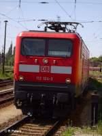 BR 112/29002/gro0ssaufnahme-von-112-124-bei-der Gro0ßaufnahme von 112 124 bei der Einfahrt in Frankfurt/Oder. 12.06.06