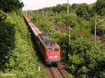 br-139---140/41081/140-216-3-verlaesst-frankfurtoder-mit-ein 140 216-3 verlässt Frankfurt/Oder mit ein leeren Autozug. 24.05.08
