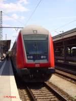 brandenburg/29003/ein-steuerwagen-auf-der-re1-linie-in Ein Steuerwagen auf der RE1-Linie in Frankfurt/Oder. 12.06.06