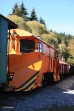 Presnitztalbahn/162196/schneeflug-auf-der-pressnitztalbahn Schneeflug auf der Preßnitztalbahn.