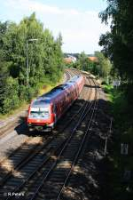 BR 610/156321/610-010-1-als-re-in-marktredwitz 610 010-1 als RE in Marktredwitz. 24.08.11