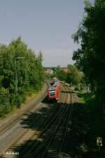 BR 612/156322/612-059-6-mit-xxx-als-re 612 059-6 mit xxx als RE in Marktredwitz. 24.08.11