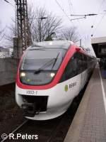 Regio Bahn/28974/noch-eine-aufnahme-von-1003-1-in Noch eine Aufnahme von 1003-1 in Düsseldorf-Völklingerstrasse.