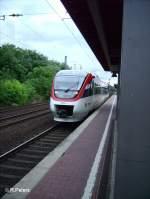 Regio Bahn/29099/1004-1-verlaesst-duesseldorf-voelklingerstrasse-mit-der-s28 1004-1 verlässt Düsseldorf-Völklingerstrasse mit der S28 Kaarst See. 02.08.06
