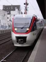 Regio Bahn/53163/1001-2-hat-duesseldorf-mit-der-s28 1001-2 hat Düsseldorf mit der S28 Kaarst See erreicht. 06.01.06