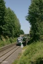 Vogtlandbahn/156352/nachschuss-von-der-vbg81118-und-vt03 Nachschuss von der VBG81118 und VT03.